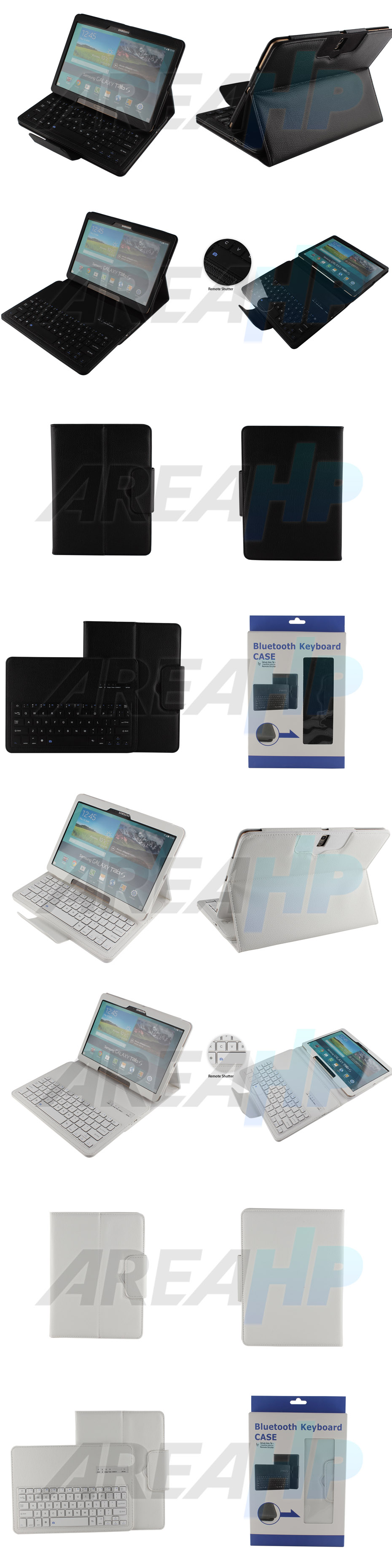 Removable Keyboard Leather Case for Samsung Galaxy Tab S 10.5 Overview