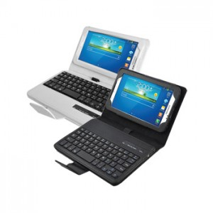 Removable Keyboard Leather Case for Samsung Galaxy Tab3 7.0 P3200