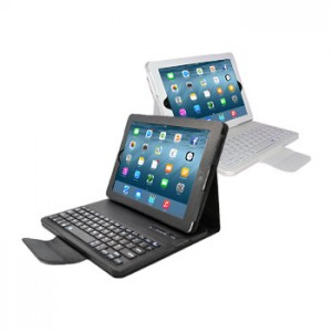 Removable Keyboard Leather Case for iPad 2, 3, 4