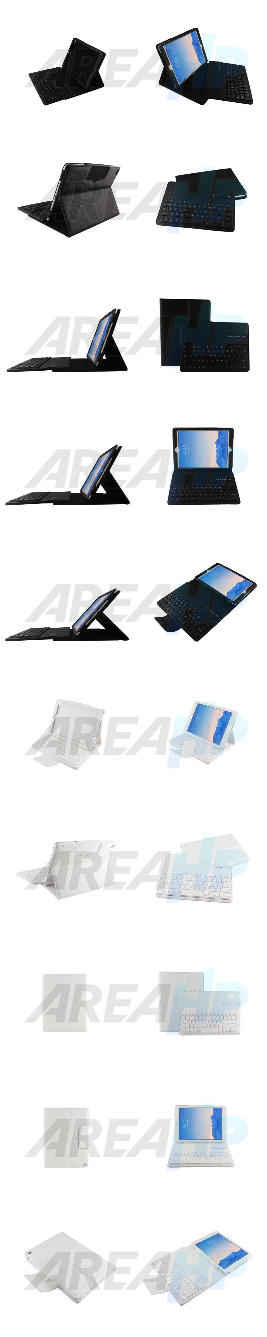 Removable Keyboard Leather Case for iPad Air Overview