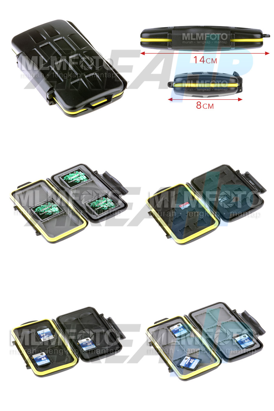 Memory Card Case Overview