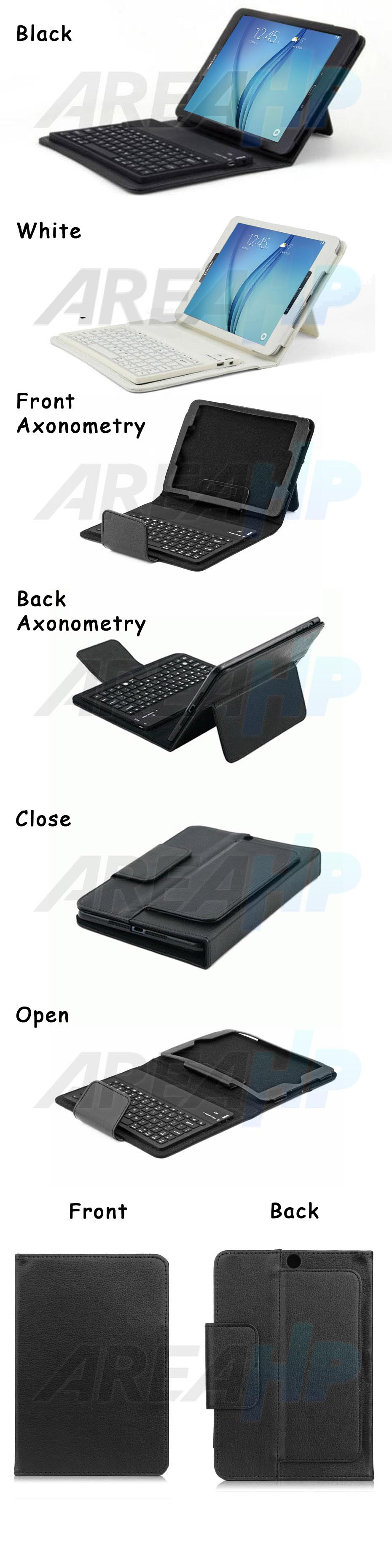 Keyboard Case for Samsung Galaxy Tab A 8.0 Overview