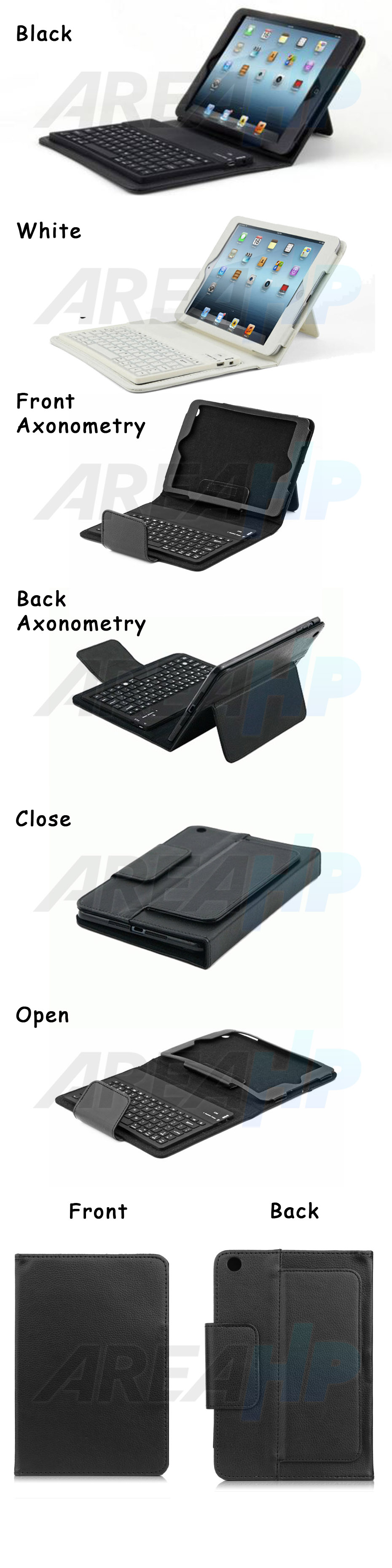 Keyboard Case for iPad Mini 1, 2, 3 Overview