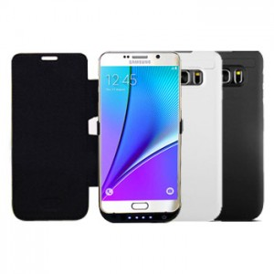 Power Case Flip Cover 5800mAh For Samsung Note 5
