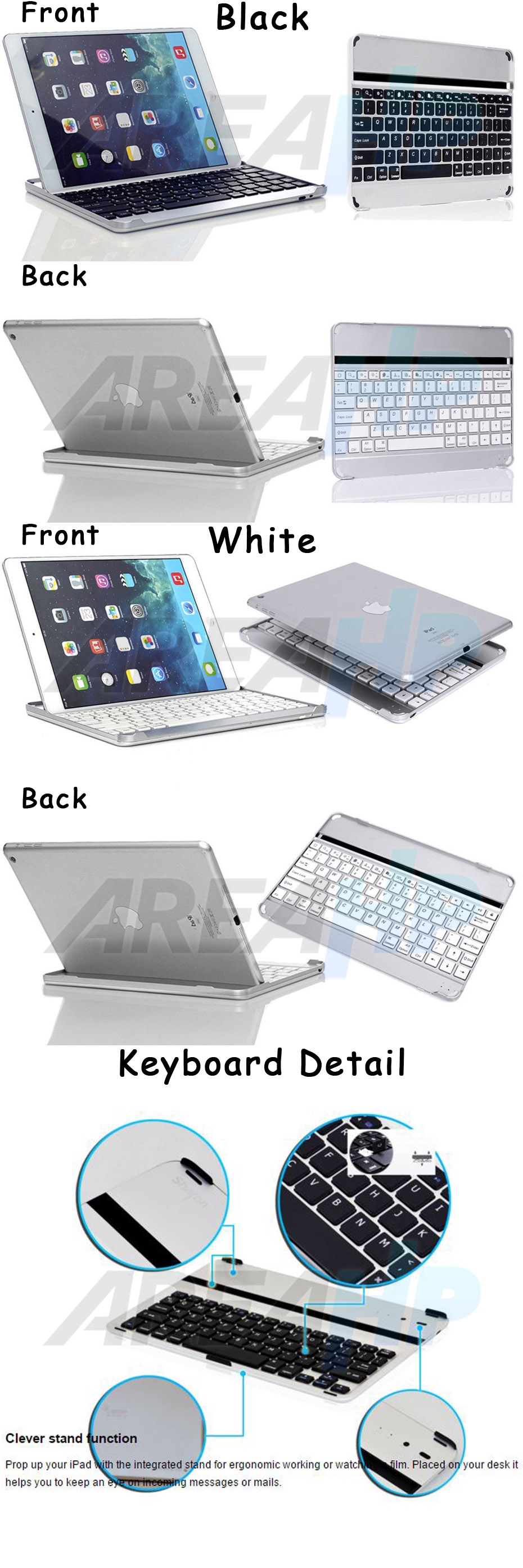 Ultra Slim Keyboard for iPad Air 2 Overview