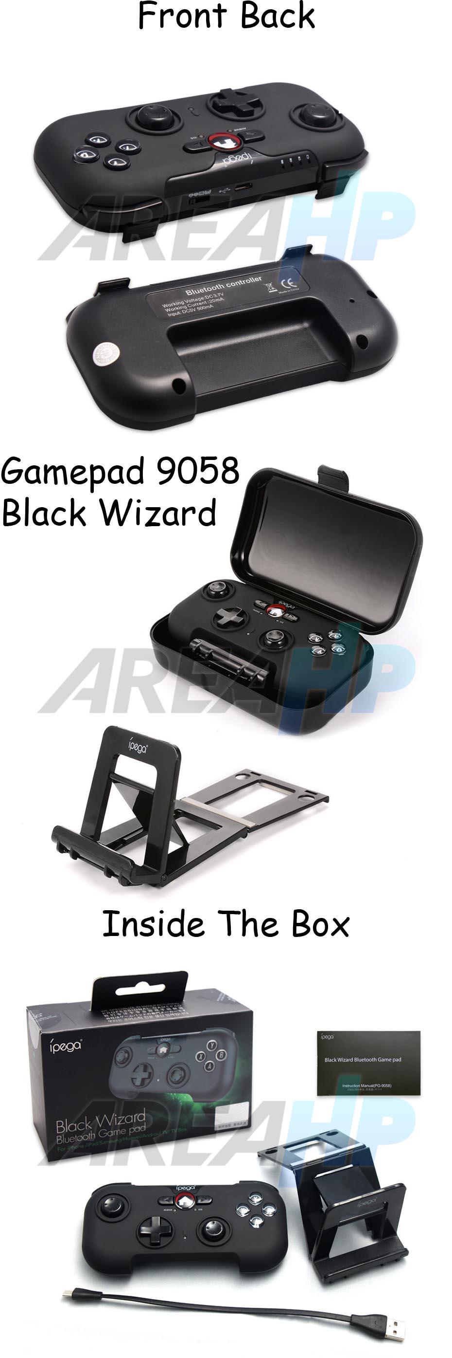 Ipega Gamepad PG-9058 Black Wizard Overview