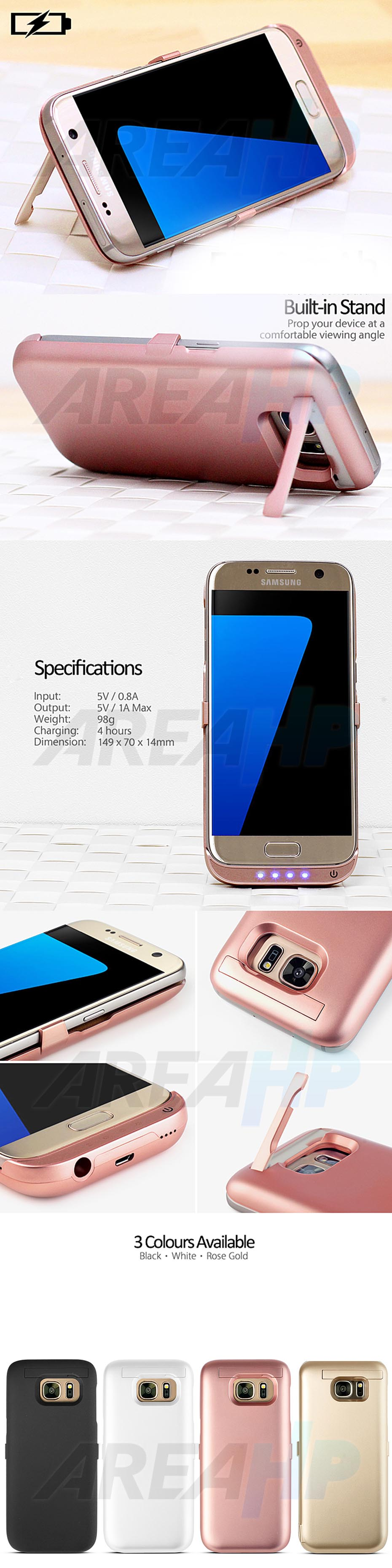 Power Case 6000mAh For Samsung S7 Overview