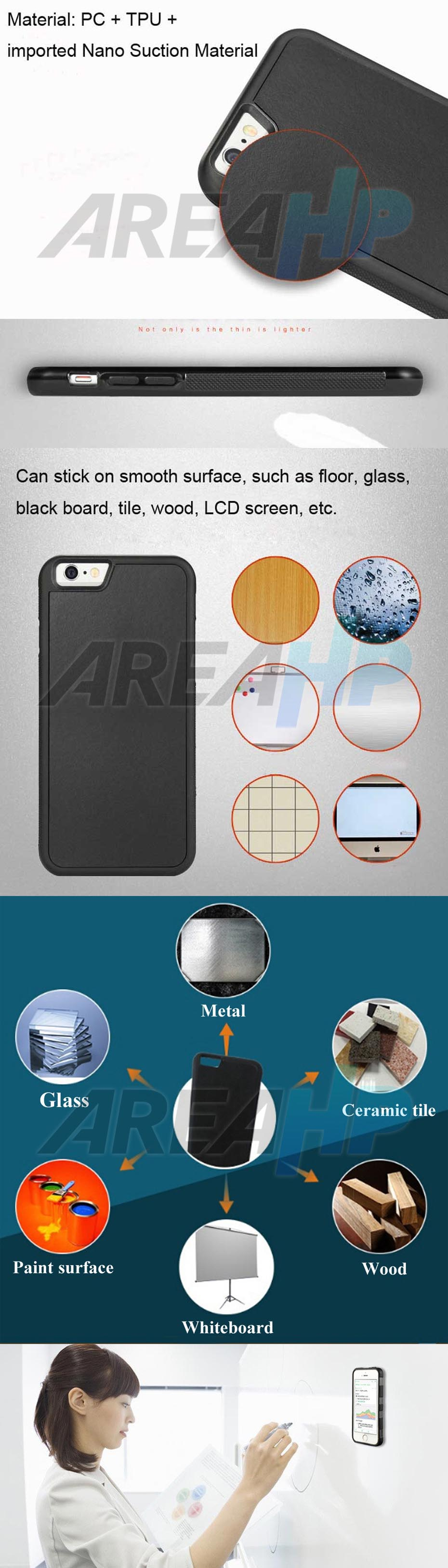 Anti Gravity Hard Case for iPhone 6 Plus +, 6S Plus + Overview