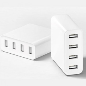 Xiaomi Universal Fast Charger 4 Slot USB for All Phone, Tablet (Original)