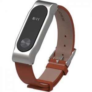 Xiaomi Band 2 Strap Clasic Buckle Leather Brown