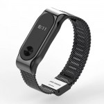 Xiaomi Band 2 Strap Steel Milanese Loop Space Grey
