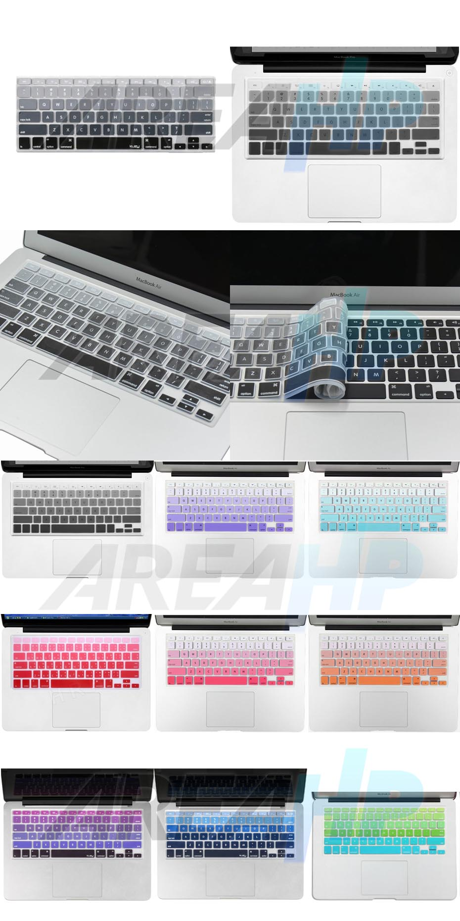 Keyboard Protector Gradient Macbook Overview