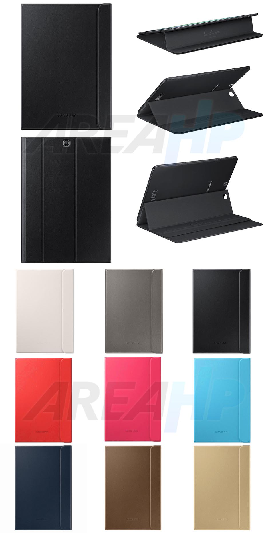 Book Cover Case Stand for Samsung Galaxy Tab S 2 9