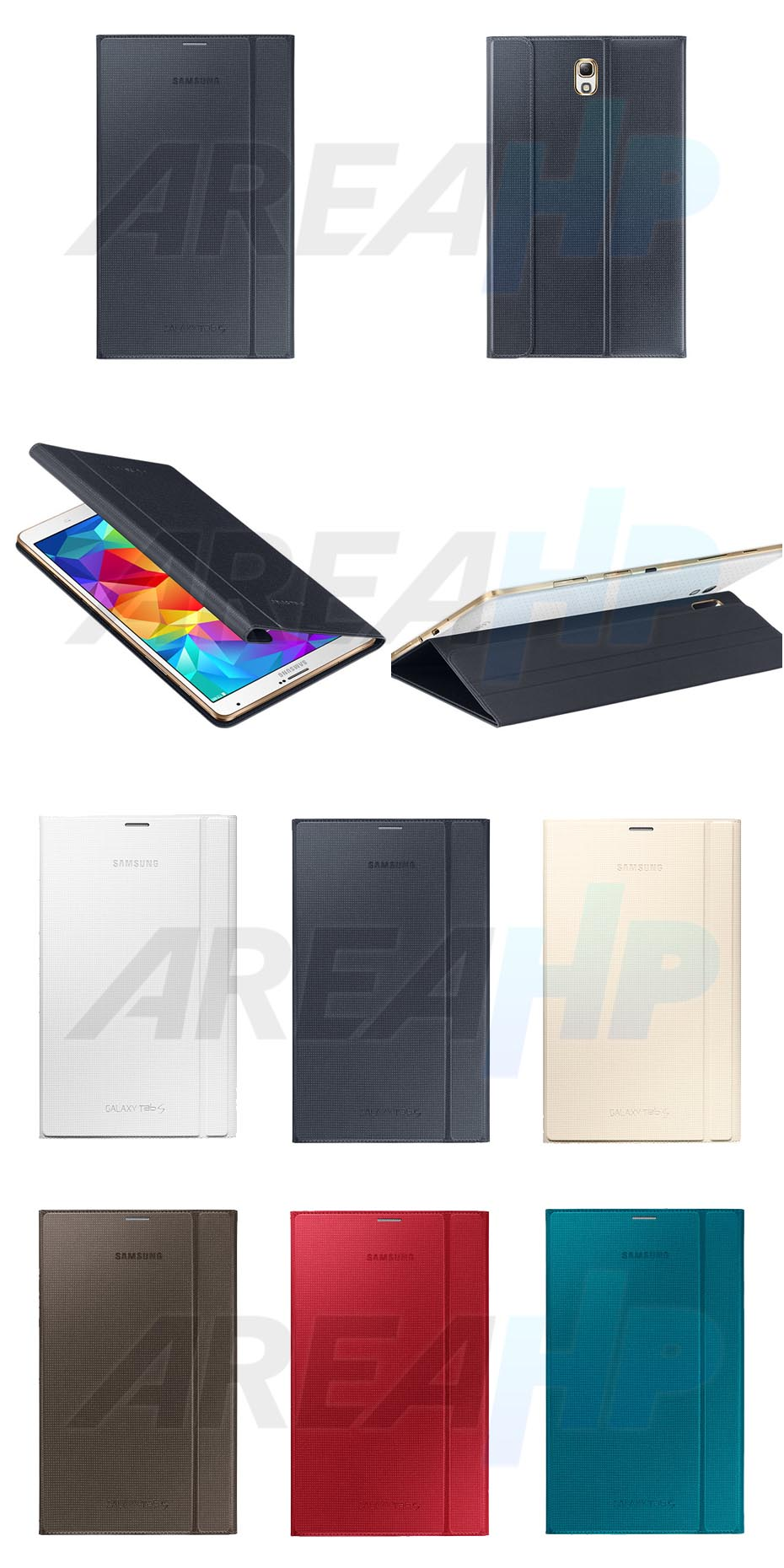 Book Cover Case Stand for Samsung Galaxy Tab S 8.4 T700 Overview