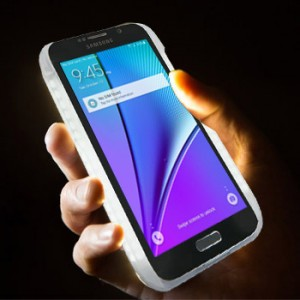 Lumee Selfie LED Light Case for Samsung Galaxy Note 5