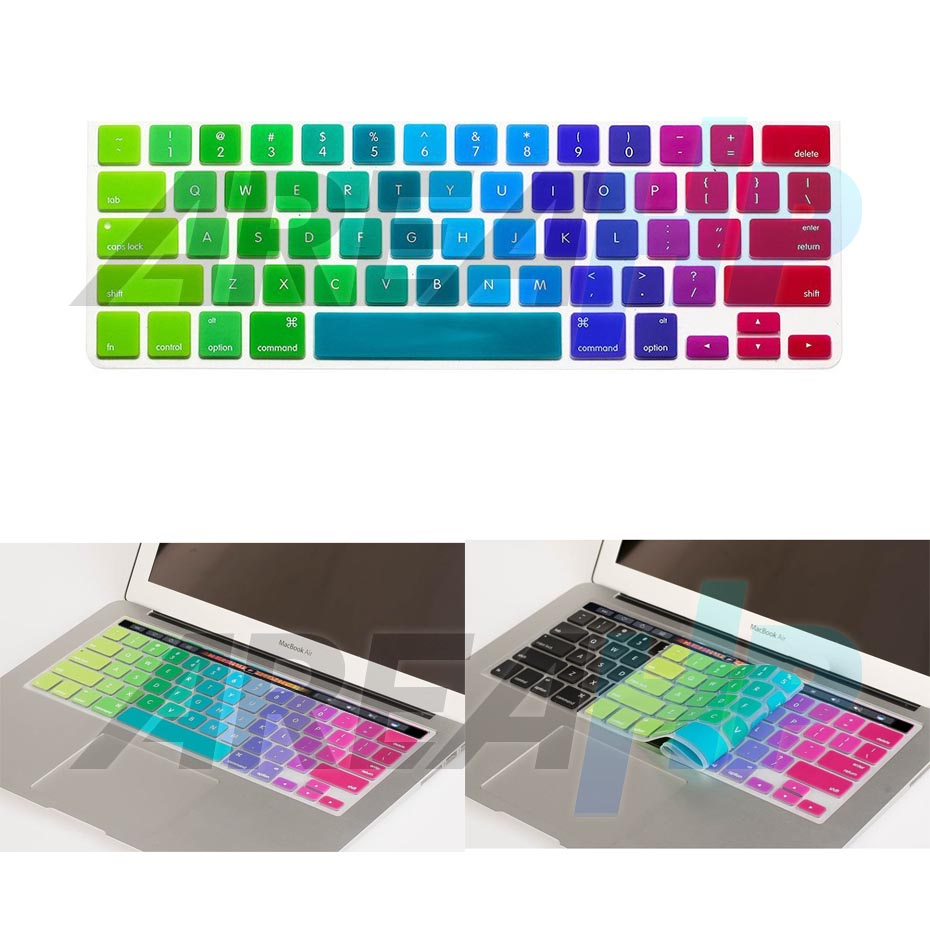 Keyboard Dazzle Rainbow Macbook Pro Touchbar Overview