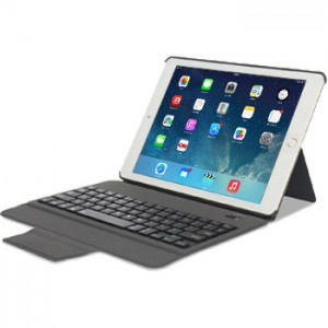 Slim Keyboard Leather Case for iPad Air