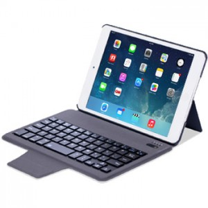 Slim Keyboard Leather Case for iPad Mini 1, 2, 3