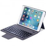 Slim Keyboard Leather Case for iPad Mini 4