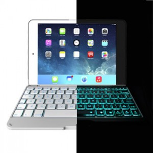 Ultra Slim Keyboard Case Backlight for iPad Mini 1, 2, 3