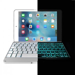 Ultra Slim Keyboard Case Backlight for iPad Mini 4