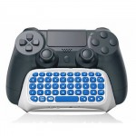 Dobe Keyboard Wireless 2.4 G TP4-008W for PS 4 Dualshock Gamepad