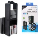 Dobe Multi function Stand Double Disc Storage TP4-838 for PS 4, Pro, Slim, VR