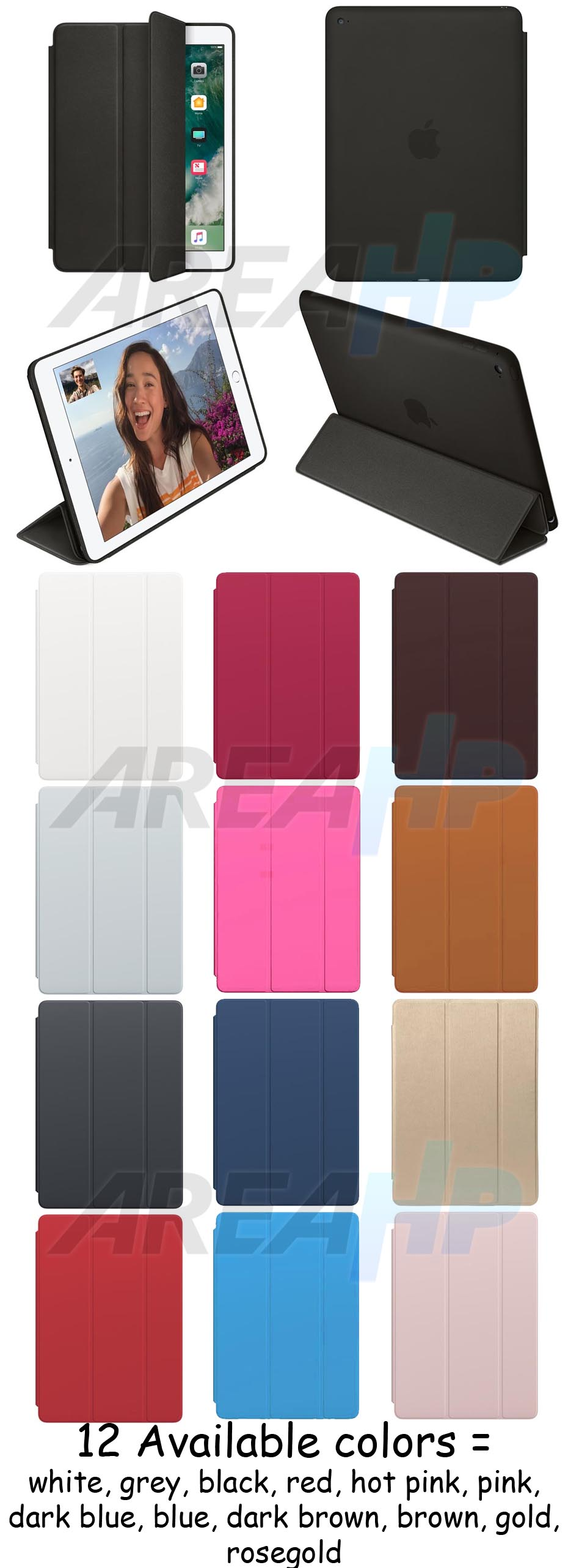 Smart Case (Leather) for iPad Overview