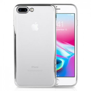 Metalic TPU Soft Case iPhone 8 Plus +