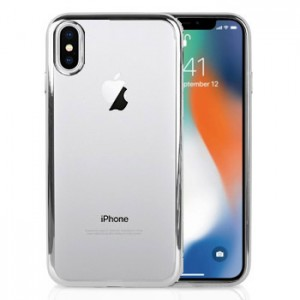 Metalic TPU Soft Case iPhone X