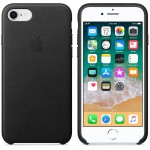 Leather Case iPhone 8 Black ORIGINAL BNIB