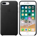 Leather Case iPhone 8 Plus + Black ORIGINAL BNIB