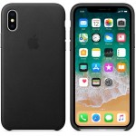 Leather Case iPhone X Black ORIGINAL BNIB