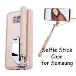Tashells Built In Selfie Stick Case Bluetooth Samsung S8