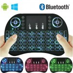 Universal Mini Keyboard Touchpad Backlight Wireless I8 for Android, Windows