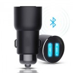 Xiaomi Mi Roidmi 3S Fast Car Charger 2 Slot USB Music Bluetooth Original