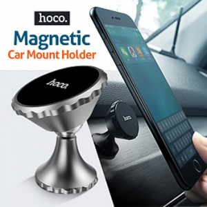 Hoco CA9 Full Metal Magnetic Car Holder for Smartphone