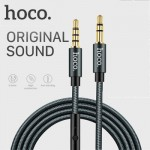 Hoco UPA04 Noble Sound AUX Audio Male to Male Cable 1m with Mic