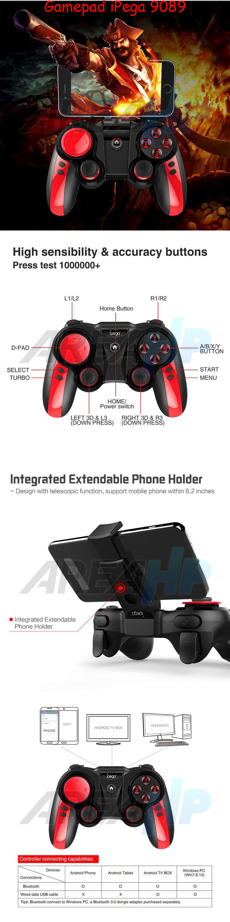 Ipega Gamepad PG-9089 Overview