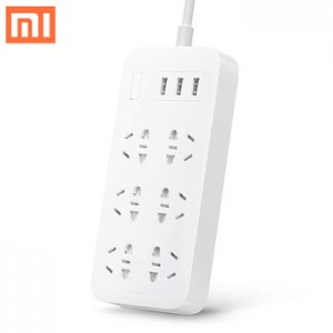 Xiaomi Smart Powerstrip Stop Kontak 6 Socket 3 USB 2A Original