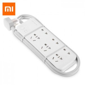 Xiaomi Smart Powerstrip Wifi Stop Kontak 6 Socket Original
