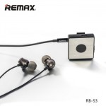 Remax Audio Bluetooth Receiver Clip On wih Mic for Earphone Speaker RB-S3