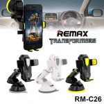 Remax Car Phone Holder Transformers Suction Cup 360 Degrees RM-C26