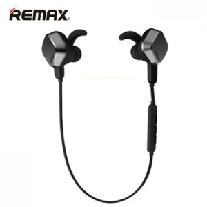 Remax Earphone Bluetooth Sport with Mic Volume Control RB-S2