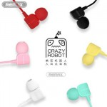 Remax Earphone Crazy Robot with Mic RM-502