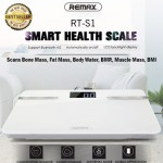 Remax Timbangan Digital Body Fat Smart Weight Scale RT-S1