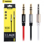 Remax 3.5mm Audio Aux Male to Male Jack Cable 1M L100