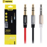 Remax 3.5mm Audio Aux Male to Male Jack Cable 2M L200