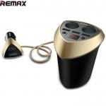 Remax Alien Smart Car Fast Charger 3 USB Port 3.4A 2 Lighter CR-3XP