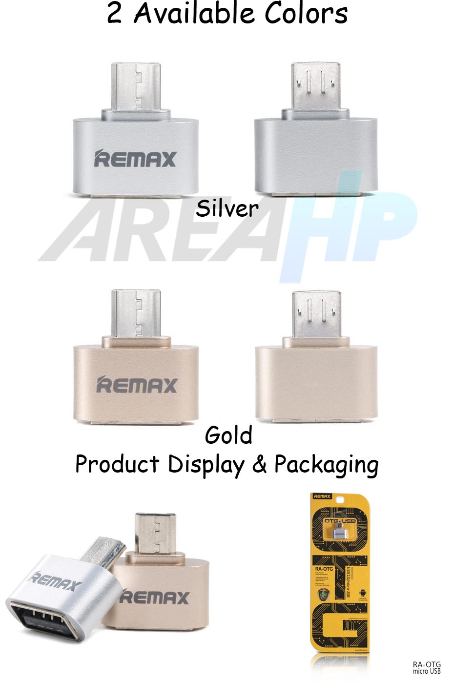 Remax Micro USB OTG Adapter Converter RA-OTG Overview